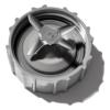 Licuadora Black & Decker blanca 2 velocidades + F. Pulso Durapro, jarra de vidrio de 1.25 lt 550W - BLBD202GW