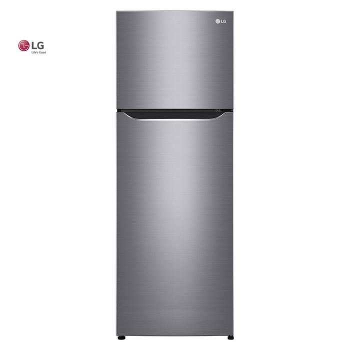 Refrigeradora LG De 10 cu.ft, Básica De 2 Puertas Color Silver