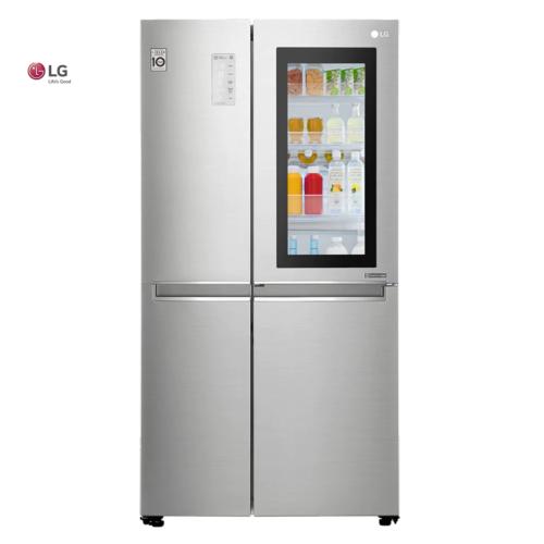 """Refrigeradora Insta View 21"""" cu. ft Door-In-Door"""