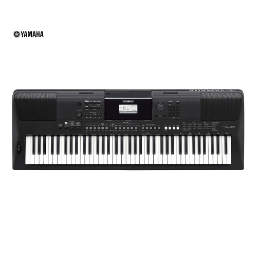 Teclado Yamaha portátil PSRE463 con puerto usb, 5 octavas 61 teclas
